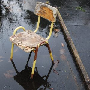 old childrens chair