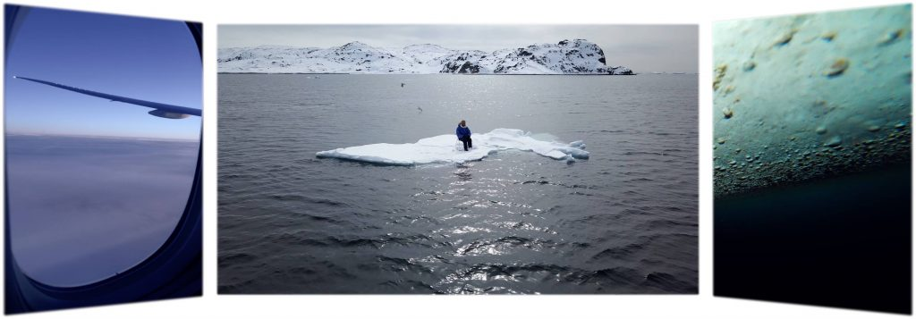 A video art triptych about disappearance of arctic sea-ice