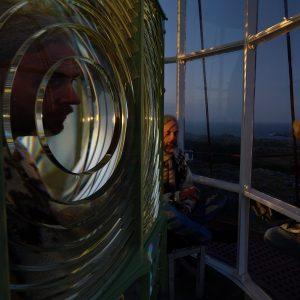 Utsira lighthouse - coronavirus lockdown video art - Adam Sébire